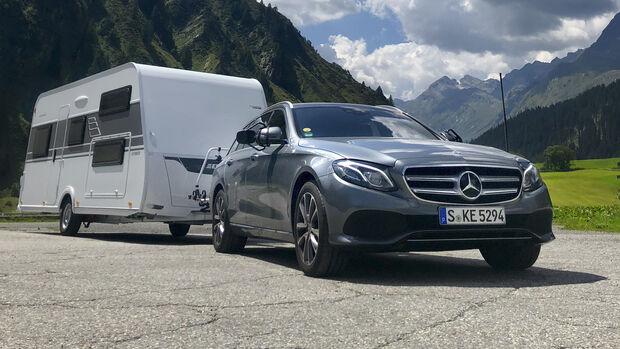 Mercedes E 220 d T, Dauertest, Exterieur