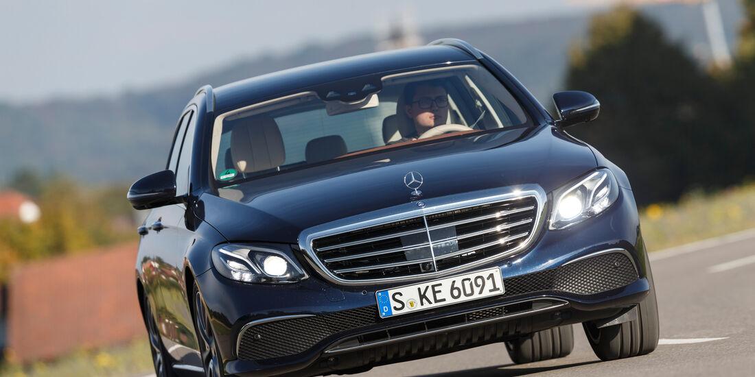 Mercedes E 220 d T, Frontansicht