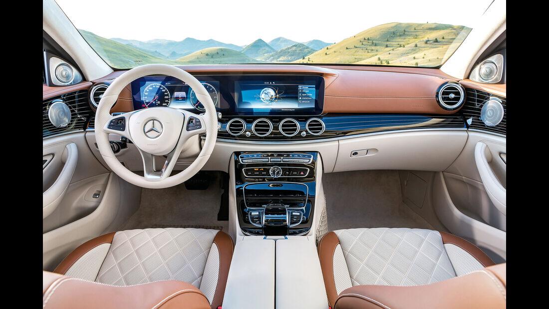 Mercedes E 220 d T-Modell, Cockpit