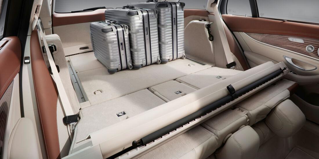 Mercedes E 220 d T-Modell, Ladefläche