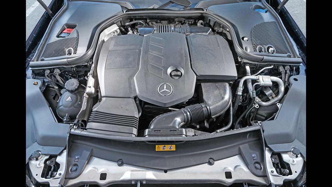 Mercedes E 220 d T, Motor