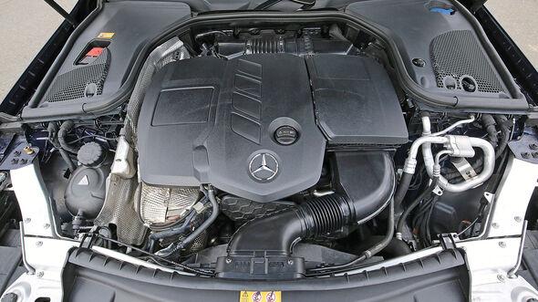 Mercedes E 220d Motor