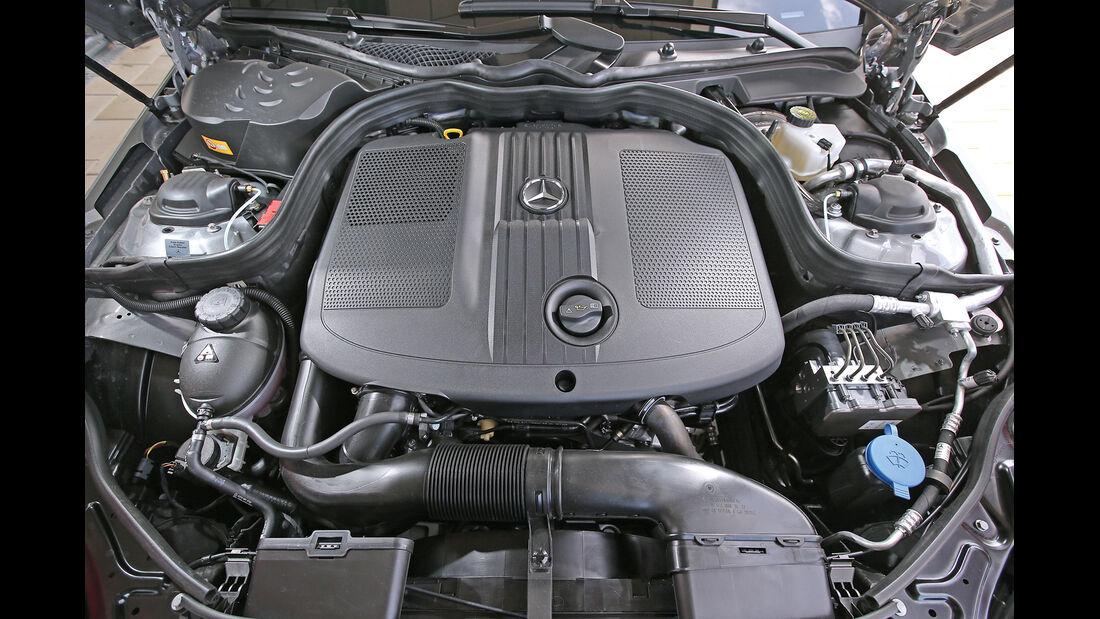 Mercedes E 250 Bluetec, Motor
