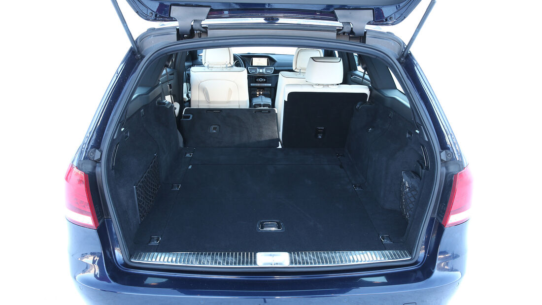 Mercedes E 250 CDI T 4matic, Kofferraum, Ladefläche