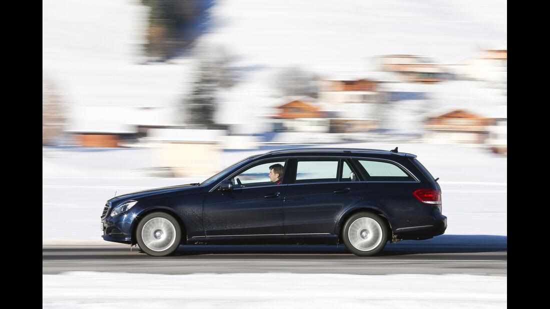 Mercedes E 250 CDI T 4matic, Seitenansicht