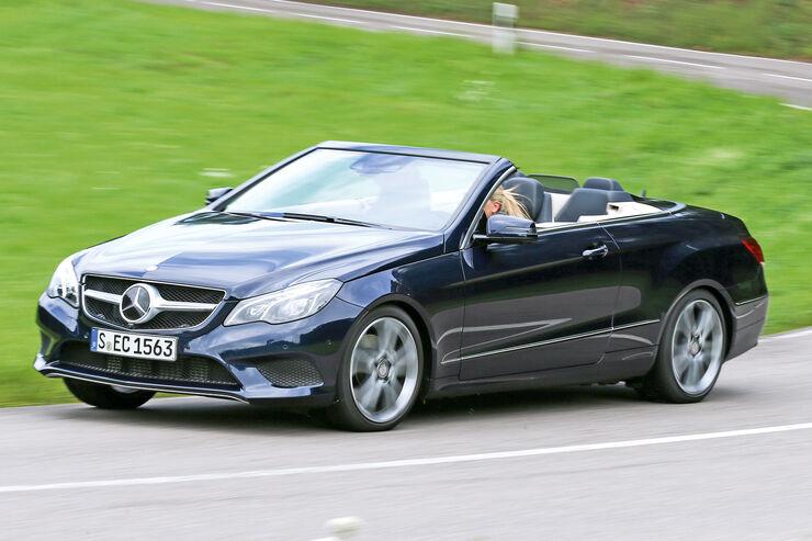 Mercedes E 250 Cabrio, Seitenansicht