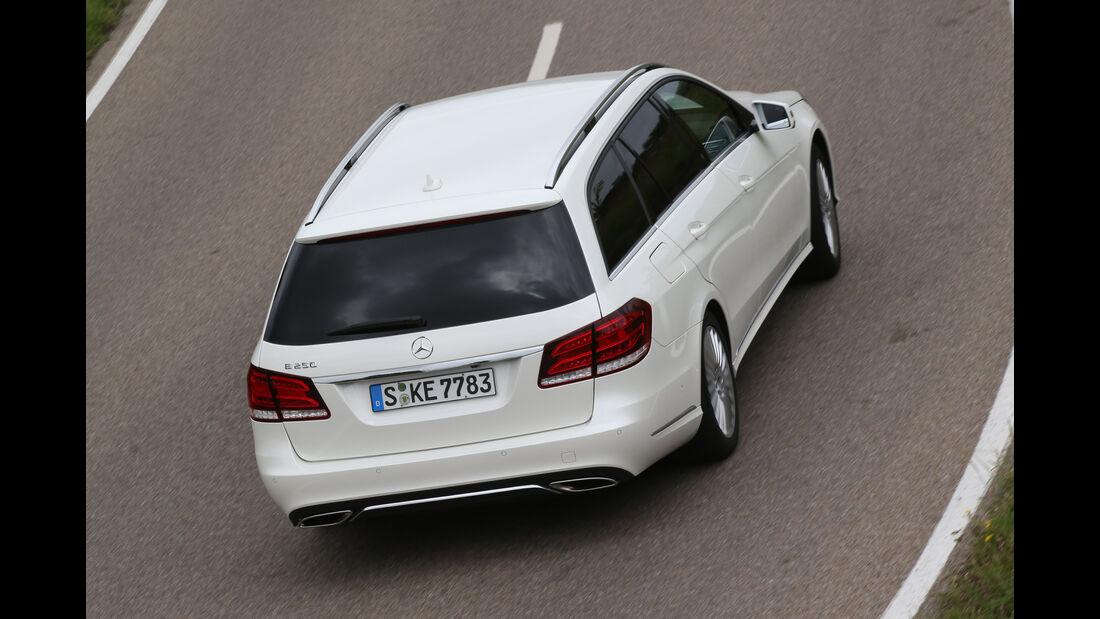Mercedes E 250 T Elegance, Draufsicht