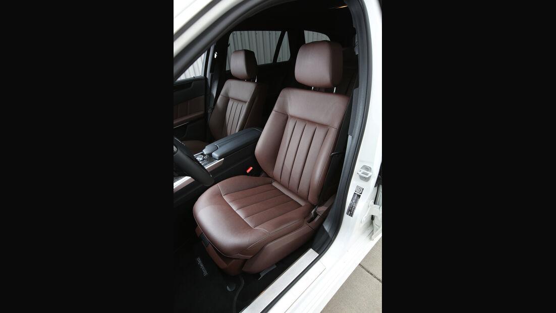 Mercedes E 250 T Elegance, Fahrersitz