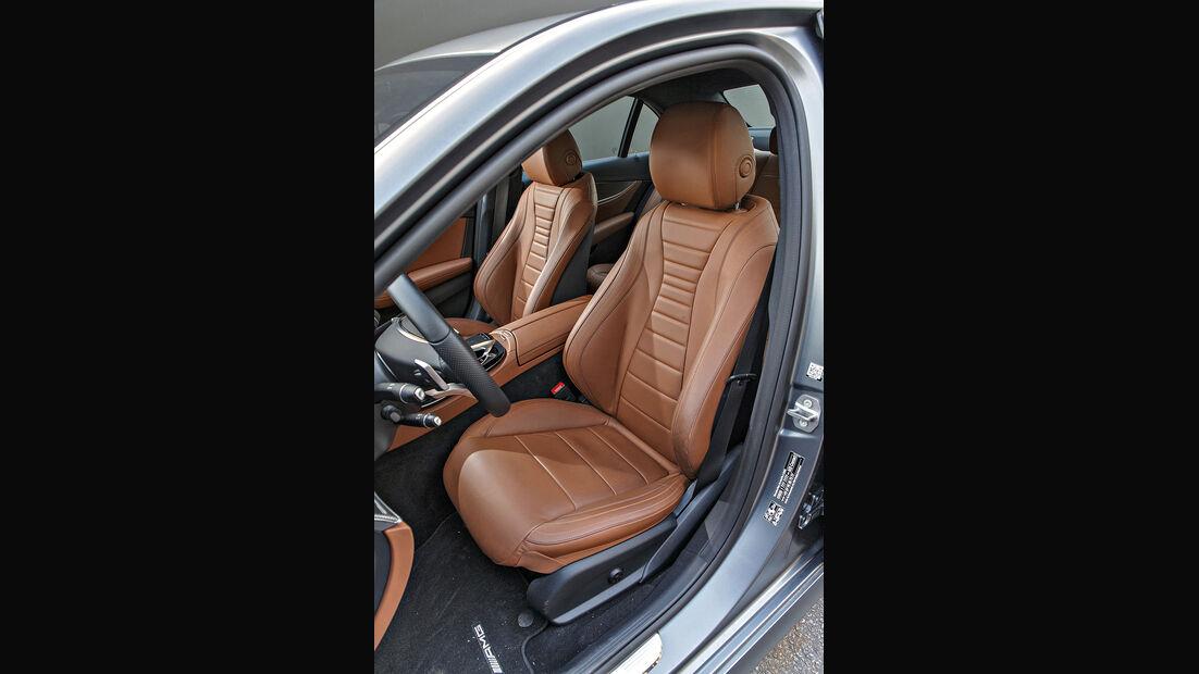 Mercedes E 300 AMG Line, Interieur