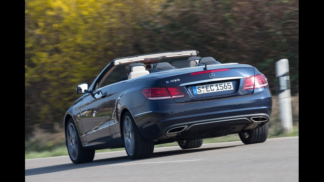 Mercedes E 300 Cabrio, Heckansicht