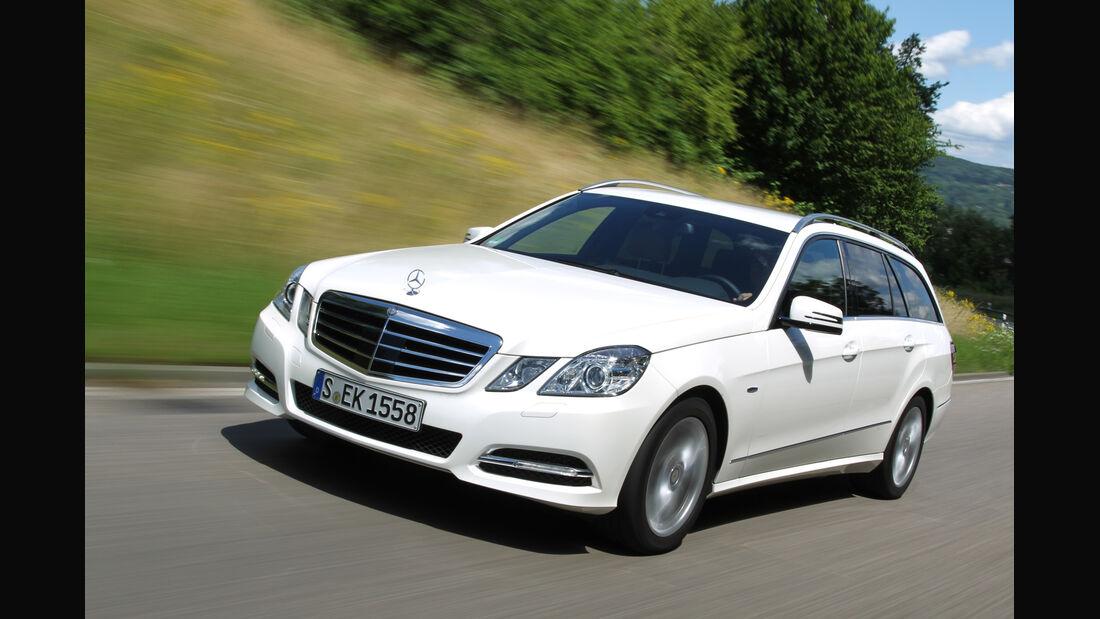 Mercedes E 300 T Bluetec Hybrid, Frontansicht