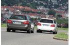 Mercedes E 300 T Bluetec Hybrid, Mercedes E 250 CDI T, Heckansicht