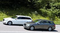 Mercedes E 300 T Bluetec Hybrid, Mercedes E 250 CDI T, Seitenansicht