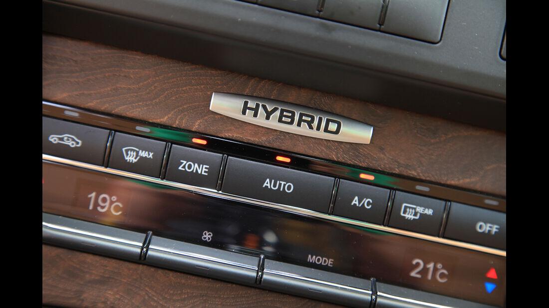 Mercedes E 300 T Bluetec Hybrid, Mittelkonsole, Bedienelemente