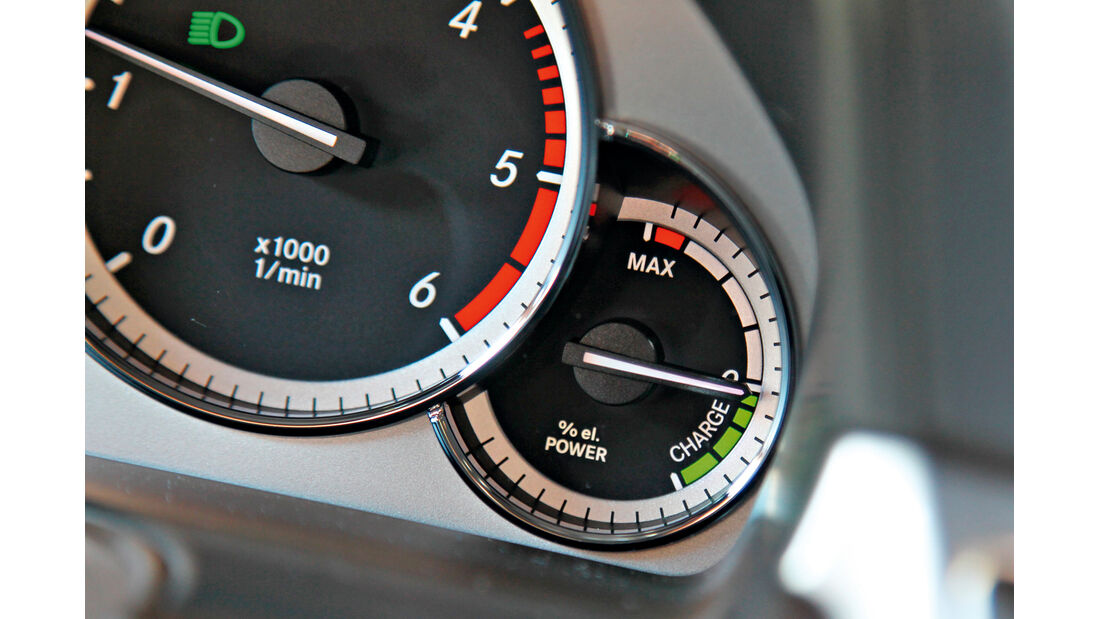 Mercedes E 300 T Bluetec Hybrid, Rundelemente