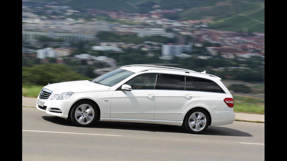 Mercedes E 300 T Bluetec Hybrid, Seitenansicht