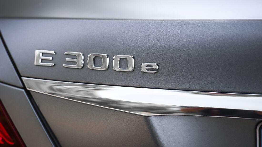 Mercedes E 300 e, Exterieur