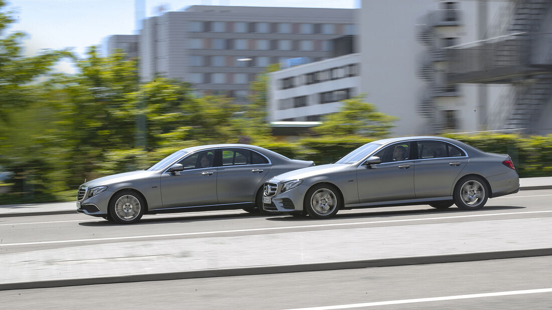 Mercedes E 300 e, Mercedes E 300 de, Exterieur