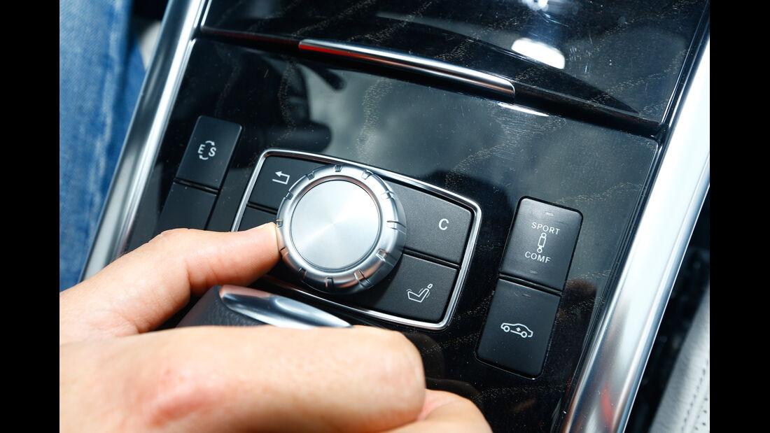 Mercedes E 350 Bluetec, Bedienelement