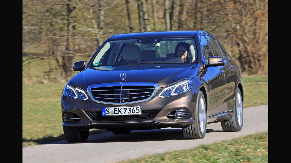 Mercedes E 350 Bluetec, Frontansicht