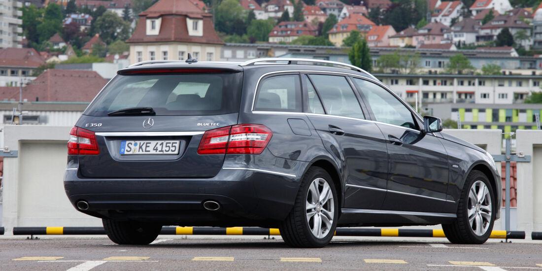 Mercedes E 350 Bluetec, Heck