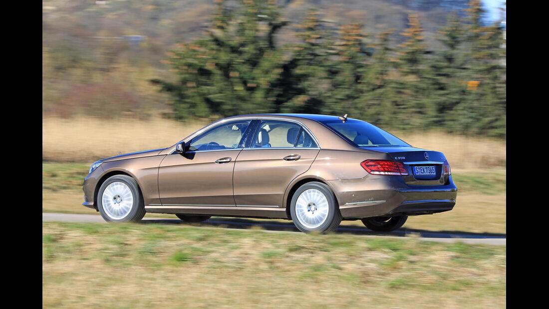 Mercedes E 350 Bluetec, Heckansicht