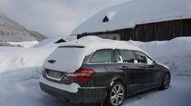 Mercedes E 350 Bluetec T-Modell, Heckansicht