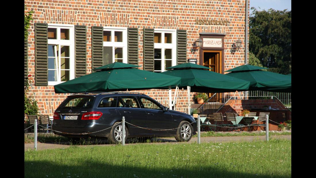 Mercedes E 350 Bluetec T-Modell, Seitenansicht
