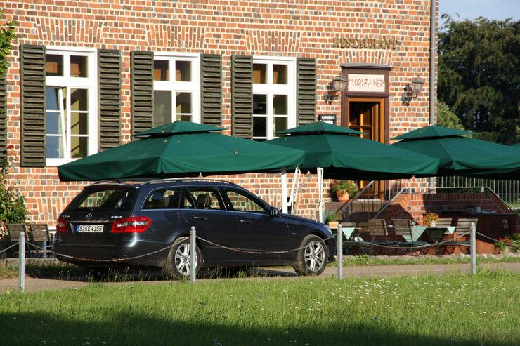 mercedes e 350 bluetec t-modell im test - auto motor und sport