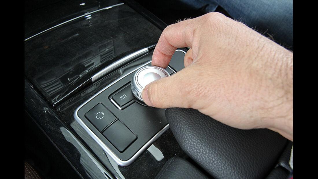 Mercedes E 350 CGI Bedienelement
