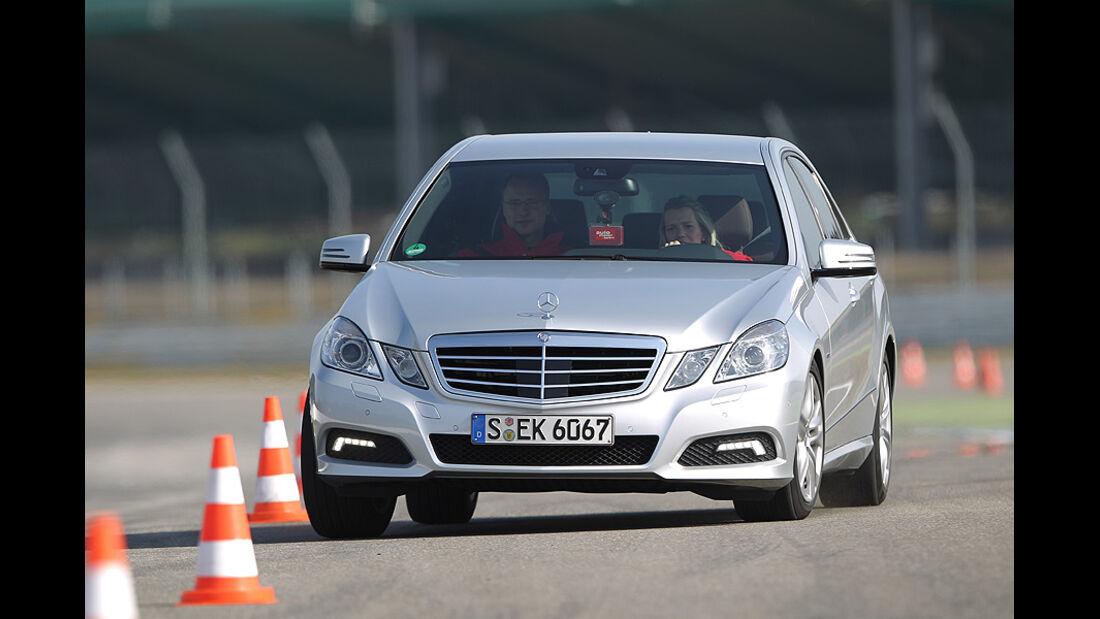 Mercedes E 350 CGI Front