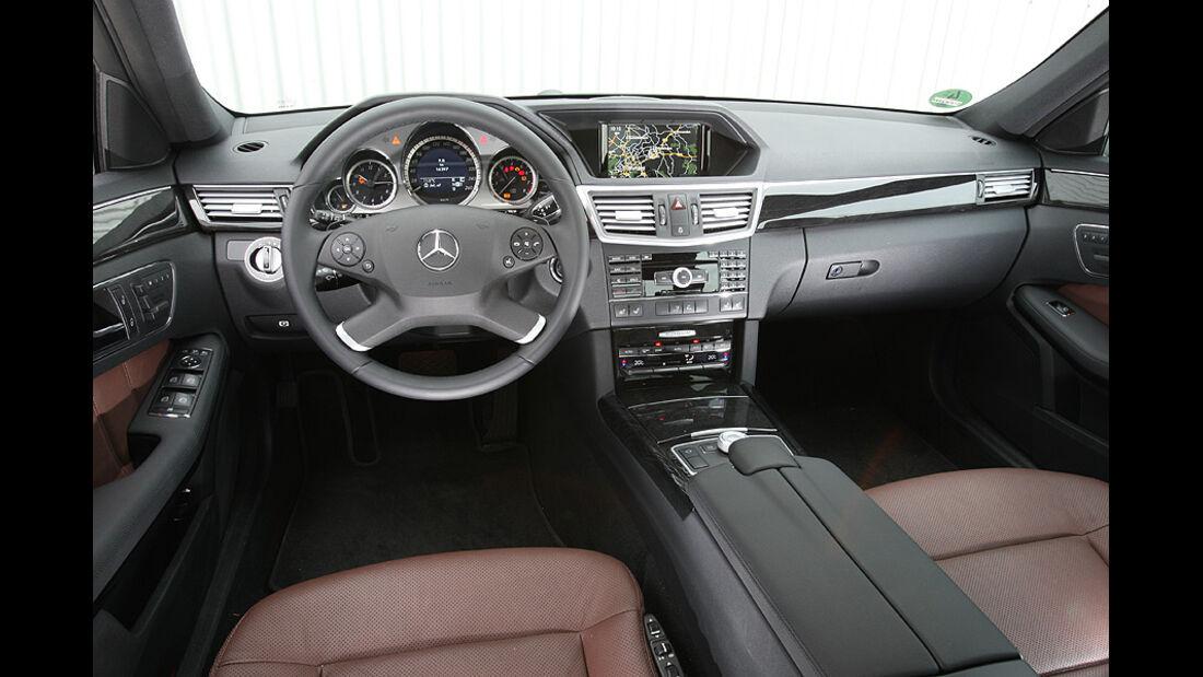 Mercedes E 350 CGI Interieur