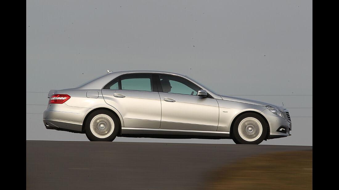 Mercedes E 350 CGI Seitenprofil