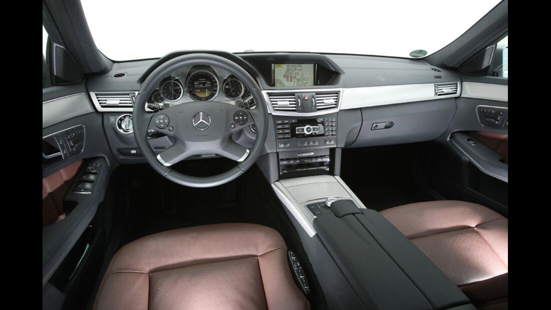 Mercedes E 350 T, Innenraum