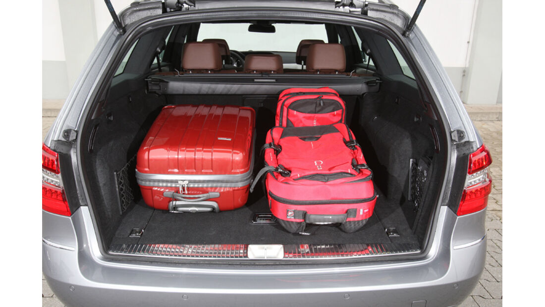 Mercedes E 350 T, Kofferraum