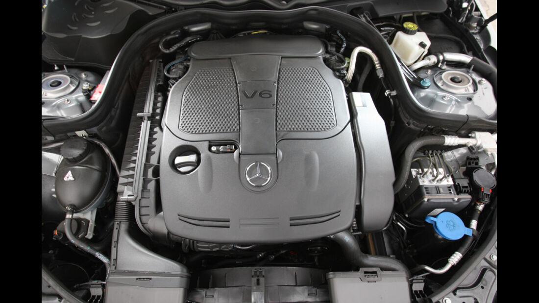 Mercedes E 350 T, Motor