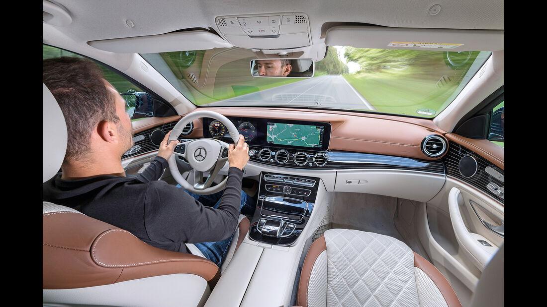 Mercedes E 350 d Exclusive, Cockpit