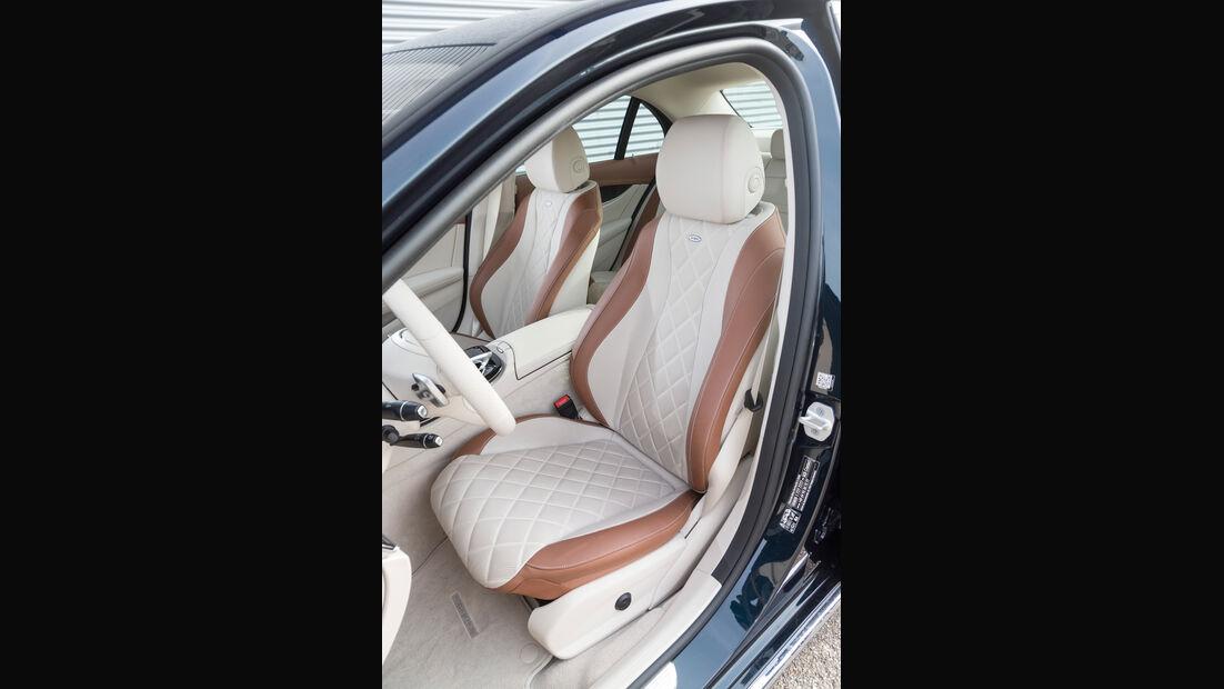 Mercedes E 350 d Exclusive, Fahrersitz