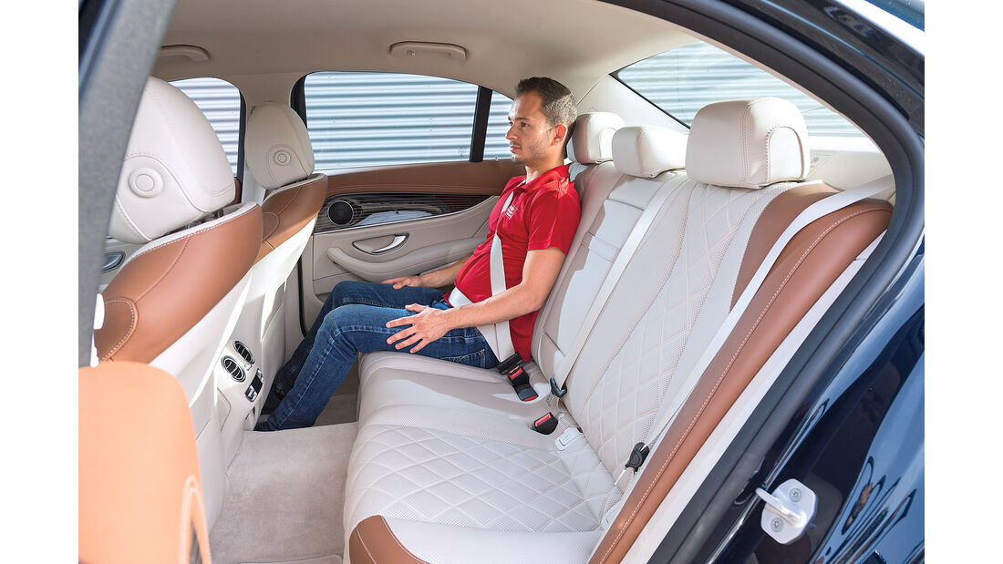 Mercedes E 350 d Exclusive, Fondsitz