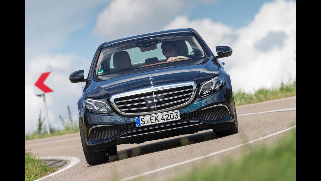 Mercedes E 350 d Exclusive, Frontansicht