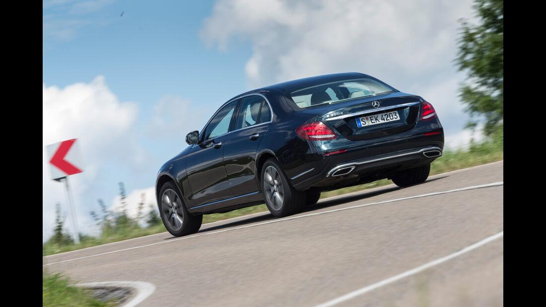 Mercedes E 350 d Exclusive, Heckansicht