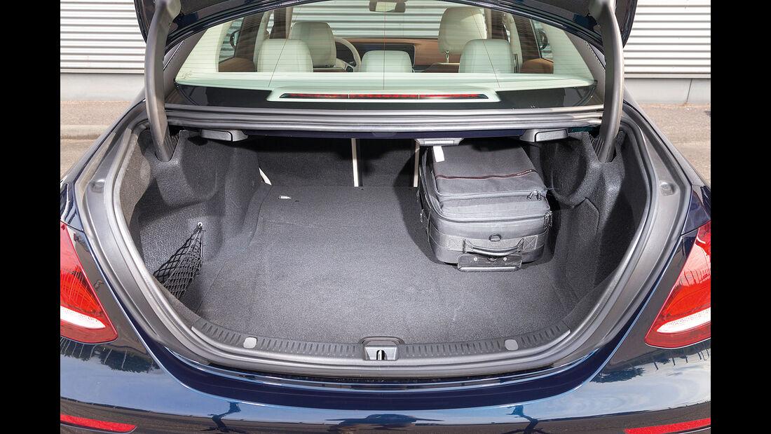 Mercedes E 350 d Exclusive, Kofferraum
