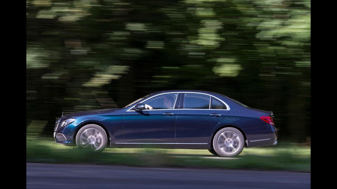 Mercedes E 350 d Exclusive, Seitenansicht