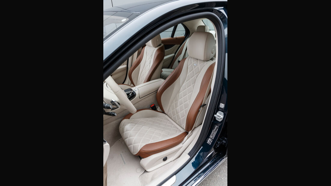Mercedes E 350 d, Fahrersitz