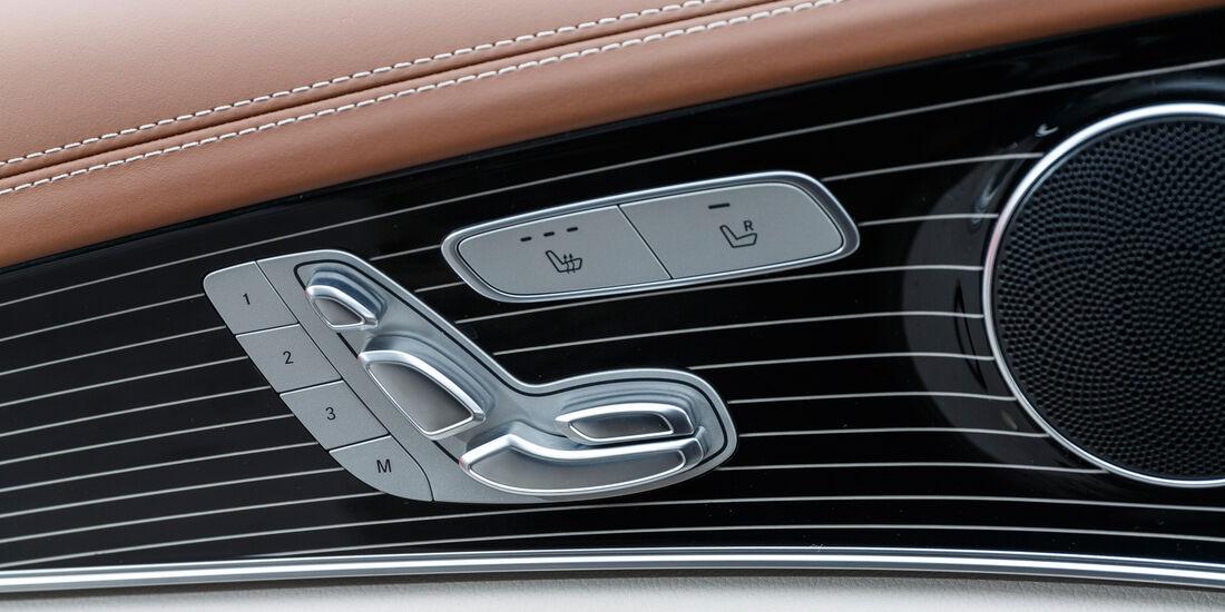 Mercedes E 350 d, Sitzverstellung
