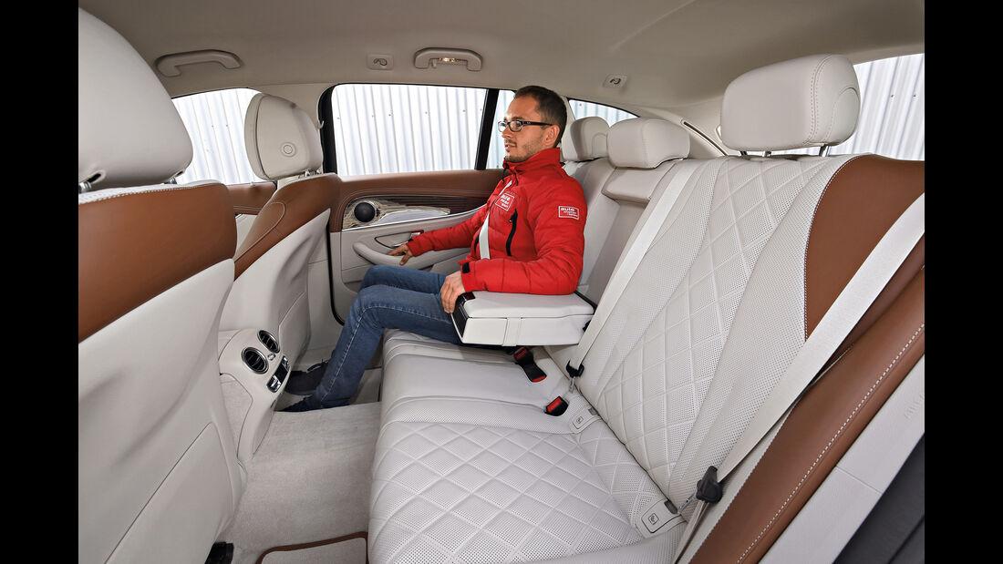 Mercedes E 350 d T Interieur hinten