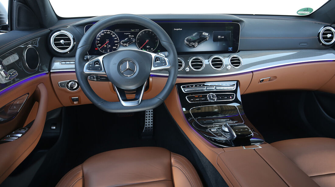 Mercedes E 350 e Avantgarde, Interieur