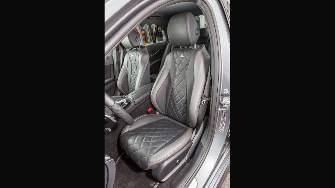 Mercedes E 400 4Matic, Fahrersitz