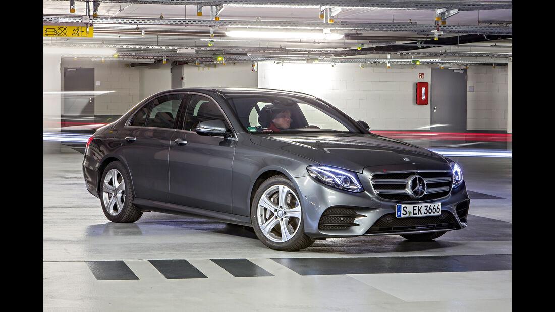 Mercedes E 400 4Matic, Frontansicht