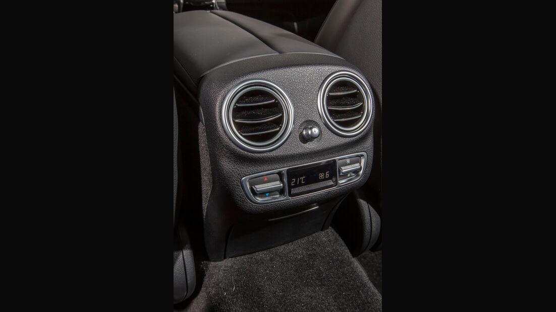 Mercedes E 400 4Matic, Luftausströmer